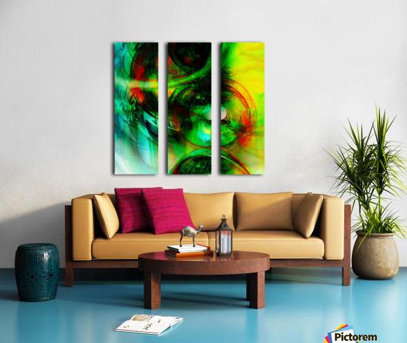 Circusia  Split Canvas print