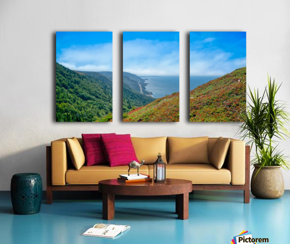 Hikers Reward Split Canvas print
