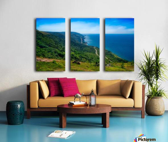 Cap Rouge Vista Split Canvas print
