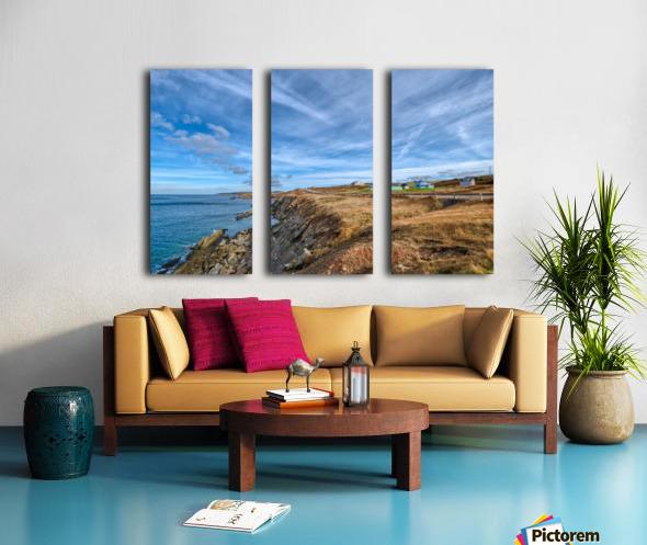 A Drive Home Split Canvas print