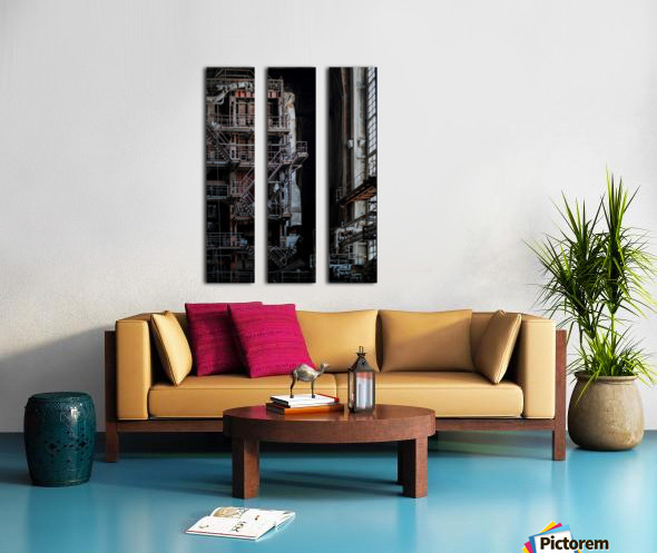 Abandoned Blade Runner Factory Split Canvas print