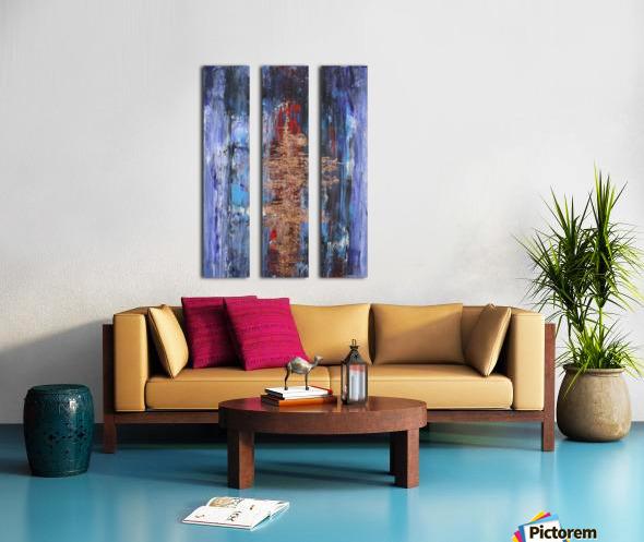 Ingot Split Canvas print