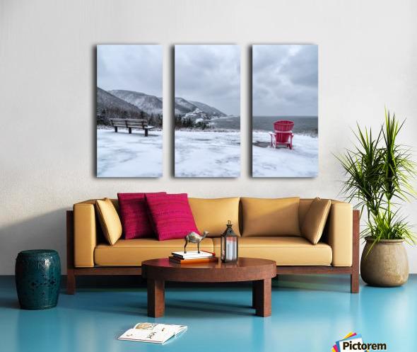 Winter in the CBHNP Split Canvas print