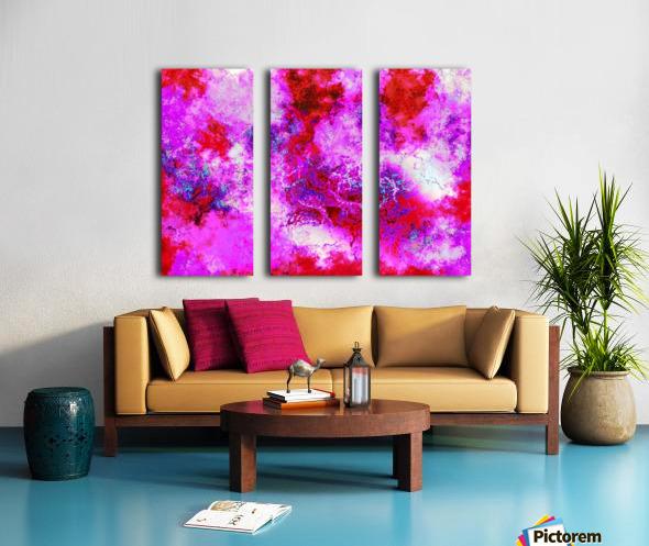 Summer Storm Clouds 16  Split Canvas print