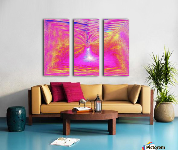 Angel Of Light 1 Split Canvas print