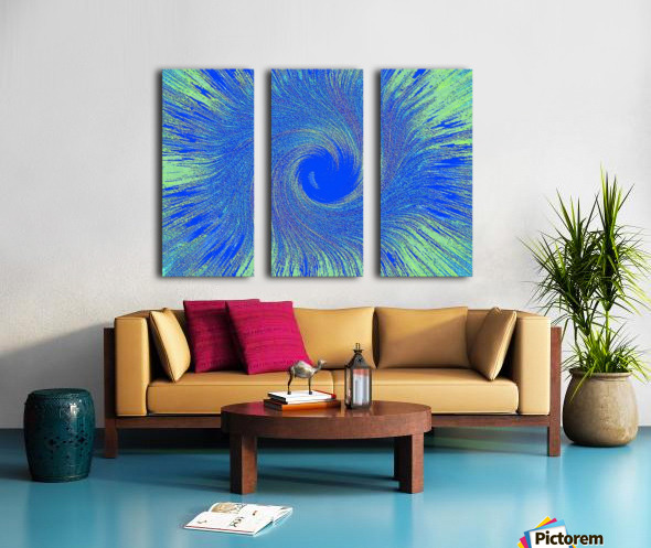 Blue Storm 1  Split Canvas print