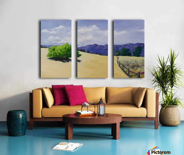 Meadow Split Canvas print