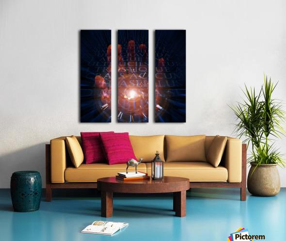 Maker of Time Split Canvas print
