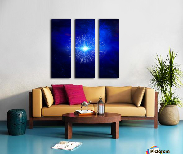 Pure Energy Split Canvas print