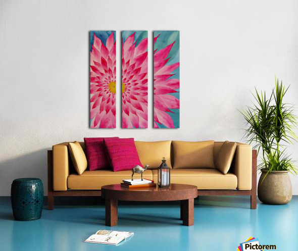 Lomi Lomi Love Split Canvas print