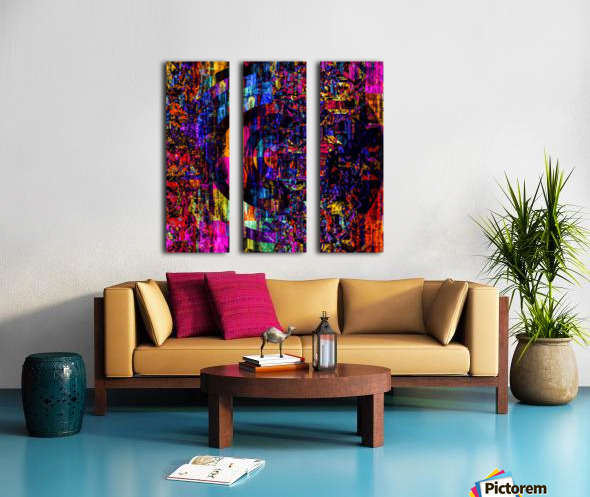 Fargo coloris  Split Canvas print