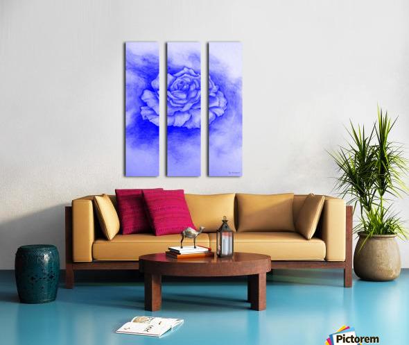 Celestial Rose Split Canvas print