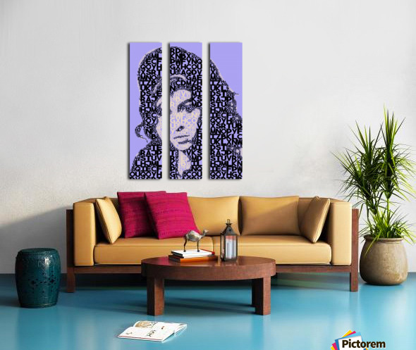 Amy Winehouse2 Split Canvas print