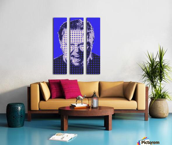 James Hetfield Split Canvas print