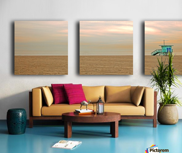 Beachbum blues Split Canvas print