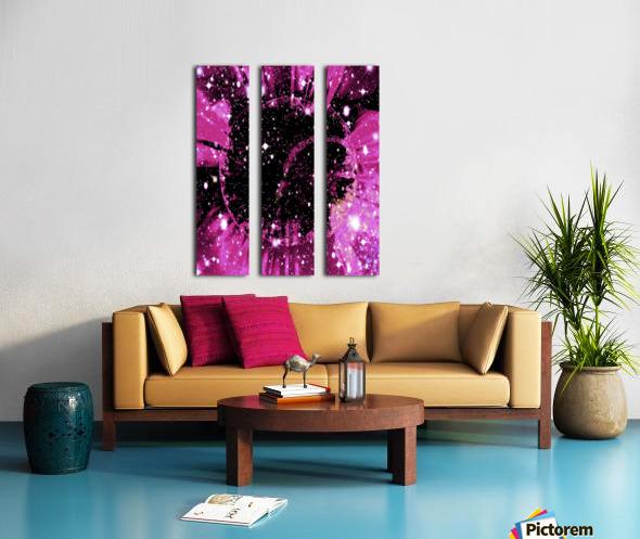 The Power of Colors Series 1 Split Canvas print