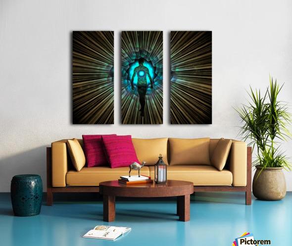 Aura or Soul Split Canvas print