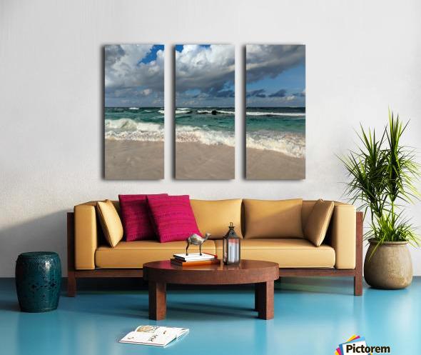 Eleuthera Endless Waves Split Canvas print