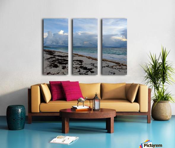 Eleuthera Stormy Horizon Split Canvas print
