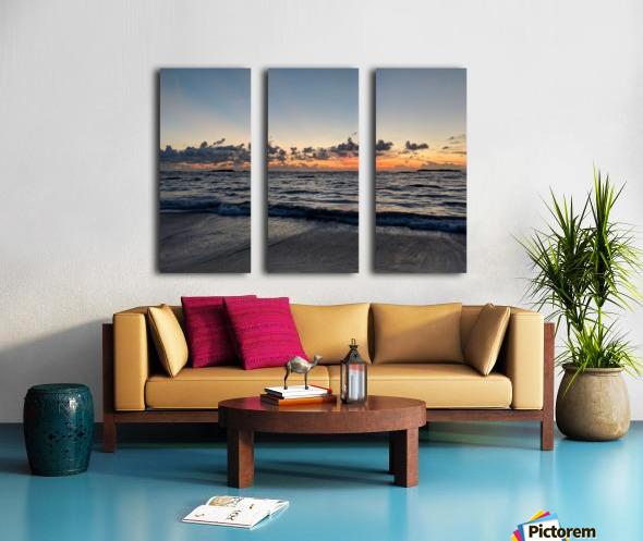 Eleuthera Glow Split Canvas print