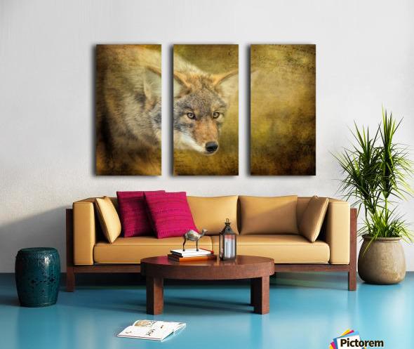 The Hunt Split Canvas print