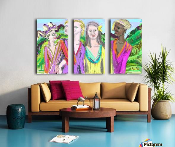 10 26 19a123Untitled Split Canvas print