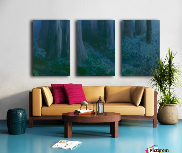 Trees Split Canvas print