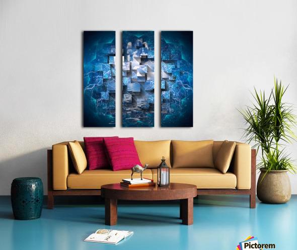 Power Revealed Split Canvas print
