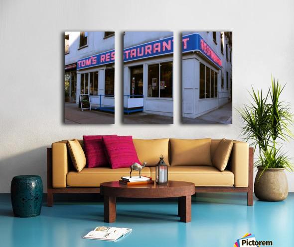 Toms Restaurant Split Canvas print