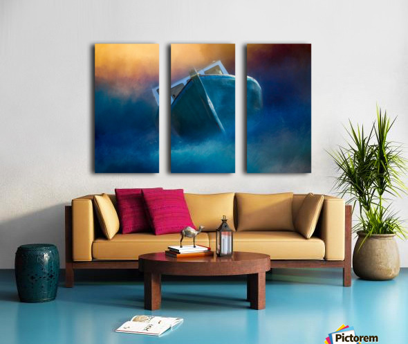 Guiding Light Split Canvas print