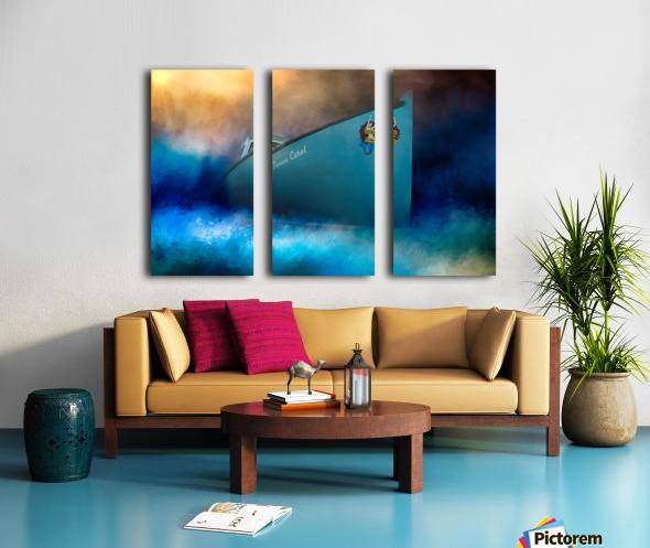 Donna Carol Split Canvas print