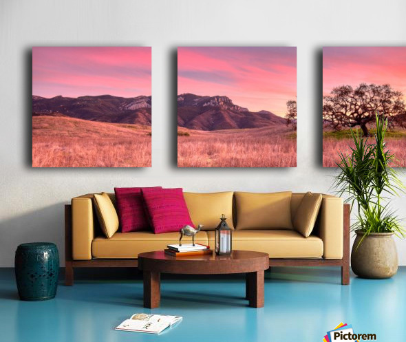 No place like home Split Canvas print