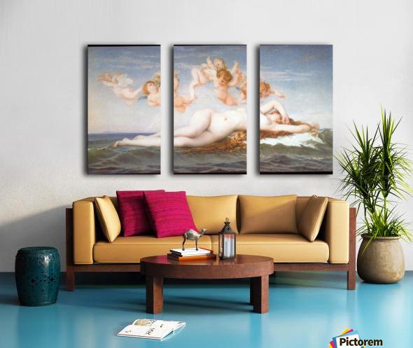 Birth of Venus by Cabanel Split Canvas print