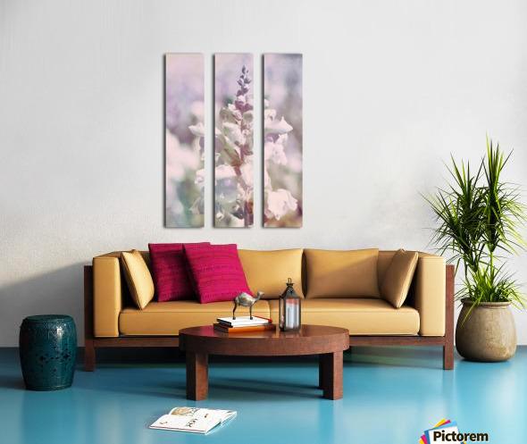 Soft Vintage Lupine Split Canvas print
