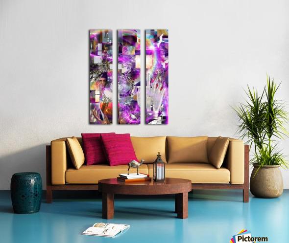 Vortex of Life Split Canvas print