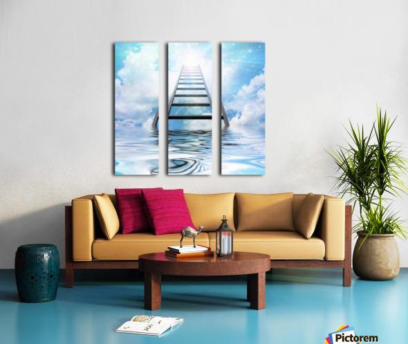 Ladder to the Sky Split Canvas print