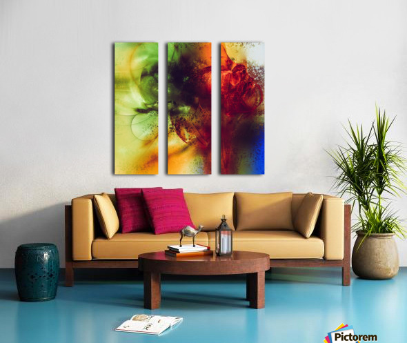 Dazz by Jean-Francois Dupuis Split Canvas print