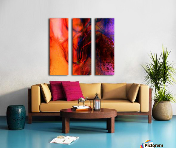 Volzin  Split Canvas print