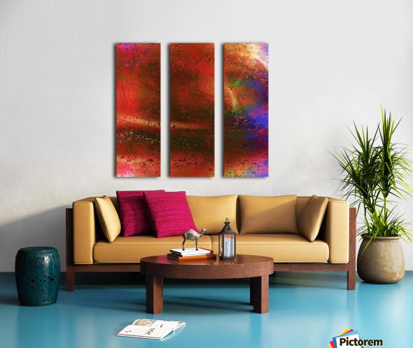 Targetor Split Canvas print