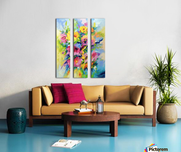 Mood Split Canvas print