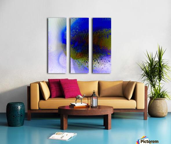 Azitum 2 Split Canvas print