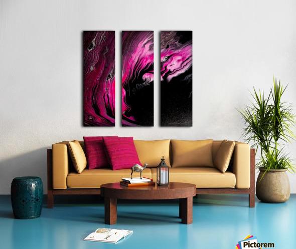 Magenta calling Split Canvas print