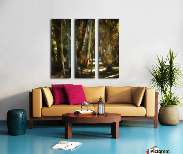 Mystical forrest Split Canvas print