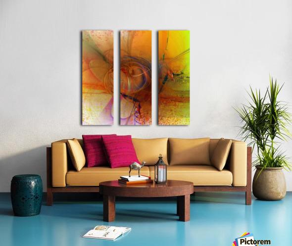 Angoiema Split Canvas print