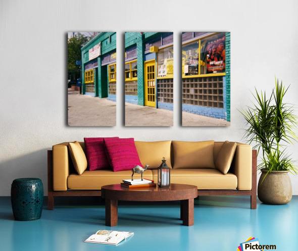 Atlanta Street Scene  Split Canvas print