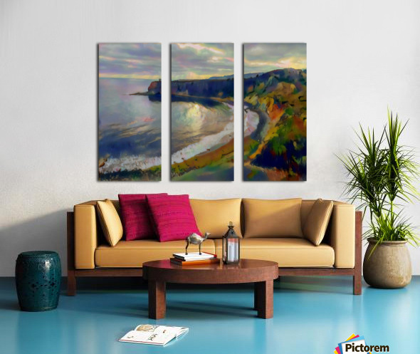 Hidden cove Split Canvas print
