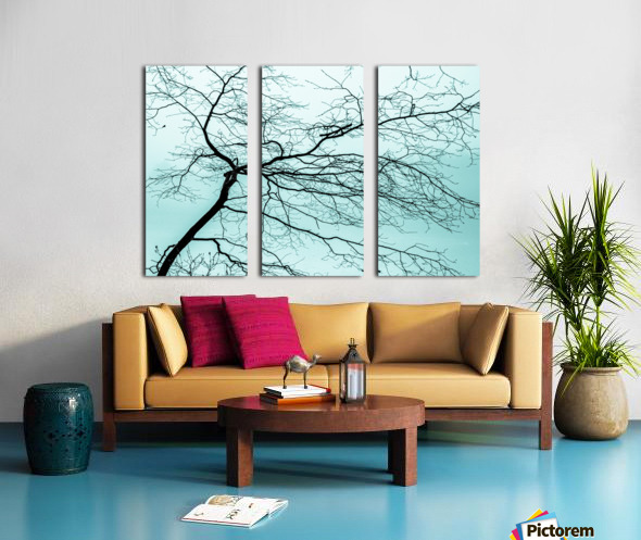 Branchlets Split Canvas print