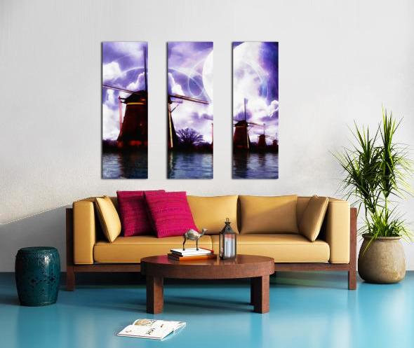 Windcatcher Split Canvas print