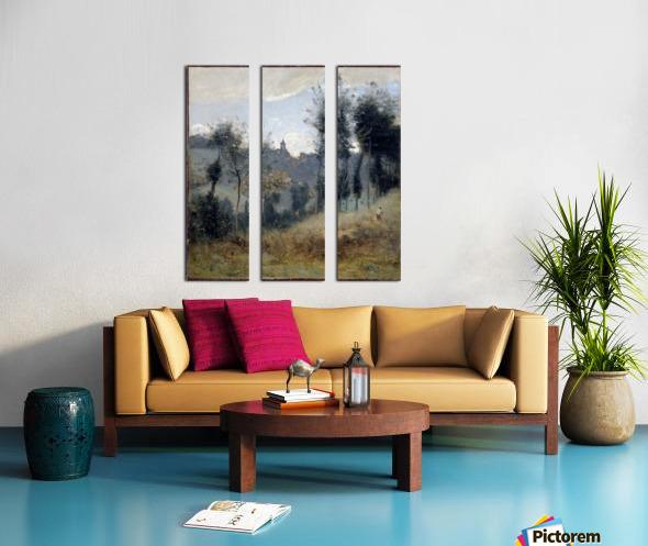 Canteleu Split Canvas print