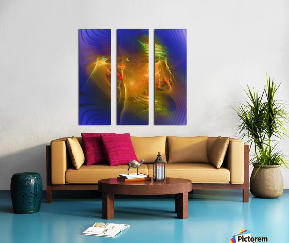 Volpozia  Split Canvas print